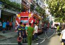 Tin tức - TP.HCM: Cháy công ty in vải, 5 người thoát chết