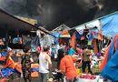 Tin tức - Hà Nội: Chợ Sóc Sơn cháy dữ dội lúc rạng sáng