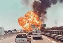 Video - Video: Cận cảnh xe bồn chở dầu nổ tung trên cầu cao tốc tại Italy
