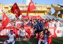 Chùm ảnh: Trung vệ Bùi Tiến Dũng đưa Thể Công trở lại V-League