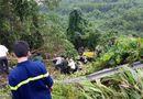 Tin tức - Xe khách lao xuống vực sâu ở đèo Hải Vân, 21 người gặp nạn
