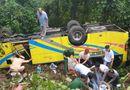 Tin tức - Vụ xe khách lao xuống vực trên đèo Hải Vân: Danh tính nữ sinh viên tử vong