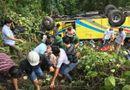 Rùng mình lời kể của sinh viên thoát chết trong vụ xe khách gặp nạn ở đèo Hải Vân
