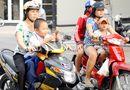 Tin trong nước - Trẻ từ 6 tuổi không đội mũ bảo hiểm sẽ bị phạt tới 200.000 đồng