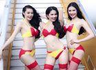 Cộng đồng mạng - Ảnh Ngọc Trinh mặc bikini quảng cáo Vietjet như đóng phim cấp 3?