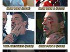 """Phim Ảnh - Người hùng hay bị """"túm cổ"""" nhất đội Avengers là... Iron Man"""