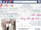 Giới trẻ -  Xôn xao thiệp cưới hình facebook cực độc của cặp đôi 8X