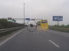 Xã hội - Hãi hùng xe khách đang chạy tại cao tốc Pháp Vân bất ngờ rơi bánh