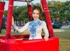 Tin tức giải trí - Elly Trần rạng rỡ khai mạc lễ hội Khinh khí cầu Quốc tế 2016