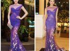 Tin tức giải trí - Hoa hậu Kỳ Duyên ngày càng hở bạo