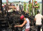Tin trong nước - Hai tàu cá bị sét đánh cháy, thiệt hại hơn 6 tỷ đồng