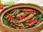 Ăn - Chơi - Thời tiết mát mẻ nấu món chạch om chuối xanh ngon tuyệt cho cả nhà