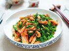 Ăn - Chơi - 15 phút cho món tôm xào hẹ ngon cơm ngày mưa gió