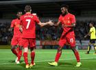 Bóng đá - Liverpool thắng tưng bừng ở Cúp Liên đoàn Anh