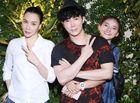 Tin tức giải trí - Nathan Lee, Hồ Quỳnh Hương giản dị đưa quán quân X Factor Minh Như đi ăn chay