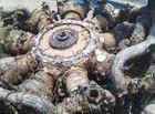 Tin trong nước - Nghệ An: Ngư dân vớt được khối kim loại nghi là động cơ máy bay