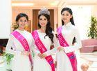 Tin tức giải trí - Những hình ảnh đầu tiên của Tân Hoa hậu và hai Á hậu Việt Nam 2016