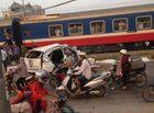 Tin trong nước - Hiện trường vụ tai nạn tàu hỏa ở Thường Tín khiến 5 người tử vong