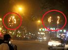 Tin trong nước - Cháy đèn trang trí Tết trên đường phố, nhiều người hốt hoảng