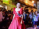 Tin tức giải trí - Cận cảnh màn trình diễn đầu tiên của Lệ Hằng tại Miss Universe 2016