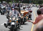 Tin thế giới - 5.000 người chơi mô tô tình nguyện bảo vệ ngày nhậm chức của Donald Trump