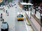 Tin trong nước - Hà Nội thí điểm cho xe buýt thường chạy vào làn BRT