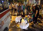 Tin trong nước - Lái xe cứu thương gây tai nạn đến công an trình diện