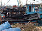 Tin trong nước - 3 tàu cá liên tiếp bốc cháy, thiệt hại hàng trăm triệu đồng