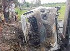 Tin trong nước - Vì sao hàng trăm người dân vây bắt, đốt xe Fortuner?