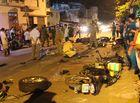 Tin trong nước - Hiện trường vụ 13 xe đâm liên hoàn ở Sài Gòn làm nhiều người thương vong