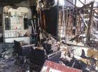 Tin trong nước - 3 cửa hàng ở quận 7 cháy rụi trong chốc lát