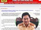 Tin trong nước - Công an Đồng Nai thông tin việc bổ nhiệm Thượng tá Võ Đình Thường