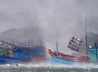 """Tin tức - Clip: Vòi rồng """"hung tợn"""" nhấn chìm tàu cá ở Phú Quốc"""
