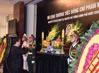 Tin tức - Lễ viếng nguyên Thủ tướng Phan Văn Khải