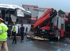Tin tức - Ô tô khách đâm xe chữa cháy: Tài xế xe khách không thể tránh được tai nạn