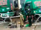Tin tức - Xe container tự trôi đâm thẳng vào bốt gác khiến Trung tá Biên phòng tử vong