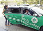 """Tin tức - Hà Nội: Tài xế GrabCar đánh nữ hành khách vì """"đóng cửa xe mạnh"""""""