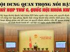 Tin tức - [Infographic] Nội dung quan trọng nổi bật trong kỳ họp thứ 6, Quốc hội khóa XIV