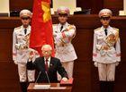 Tin tức - Điện mừng Tổng Bí thư Nguyễn Phú Trọng được bầu làm Chủ tịch nước
