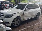 Tin tức - Hà Nội: Xế hộp Audi Q5 bất ngờ đâm liên hoàn 3 xe trên phố, tài xế trốn khỏi hiện trường