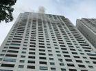 Tin tức - Hà Nội: Chung cư Linh Đàm bất ngờ bốc cháy, dân cư chạy bộ từ tầng 31 xuống đất
