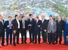 """Tin tức - Thủ tướng chia sẻ cảm xúc về sự trỗi dậy của vùng đất """"4 không"""" Chu Lai"""