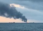 Tin thế giới - Nga: Cháy 2 tàu chở nhiên liệu trên biển, 11 người thiệt mạng