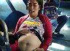 """Tin tức - Tài xế xe buýt """"dính hạn"""" vì chở nữ quái giả bụng bầu đi cấp cứu"""