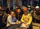 An ninh - Hình sự - Vụ tài xế đâm gục người đi xe máy sau tai nạn ở Hà Nội: Công an đang lấy lời khai của nghi can