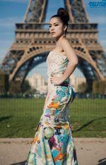 Ngôi Sao - Quách An An kiêu sa giữa kinh thành Paris cuối thu