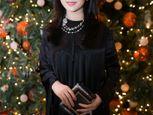Hoa hậu Giáng My nổi bật với váy đen hàng hiệu - Ảnh số 5