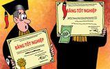 Kỷ luật Chánh thanh tra huyện khai man bằng cấp