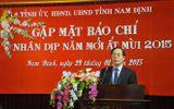 Ông Nguyễn Khắc Hưng làm Bí thư Tỉnh ủy Nam Định
