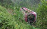 Lật xe ở biên giới Trung Quốc, 23 người Việt thương vong